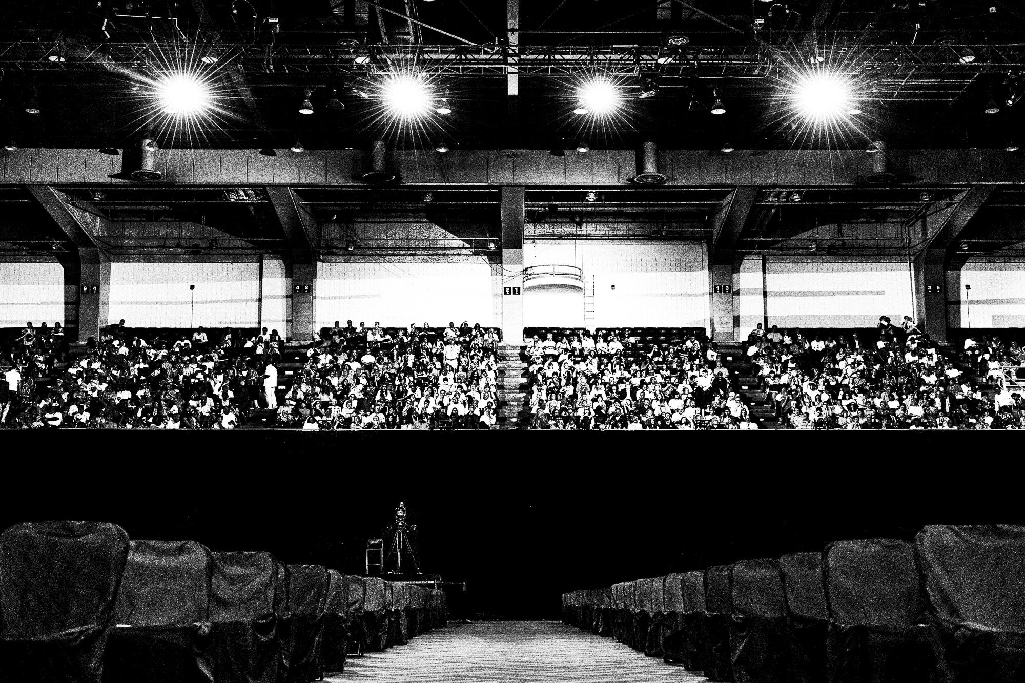 A Convention Center in Savannah, USA.