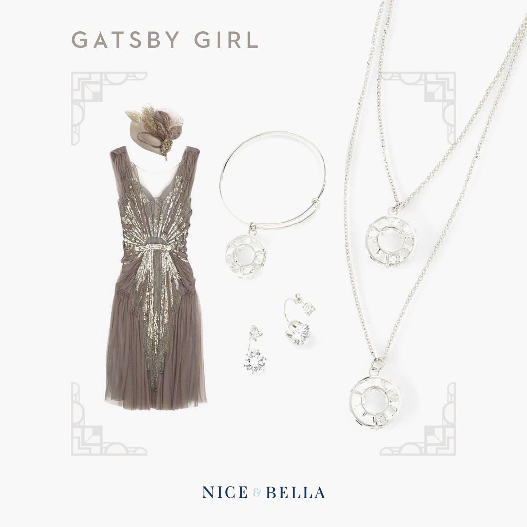 Bracelet (317494L), Necklace (317495), Earrings (317484)