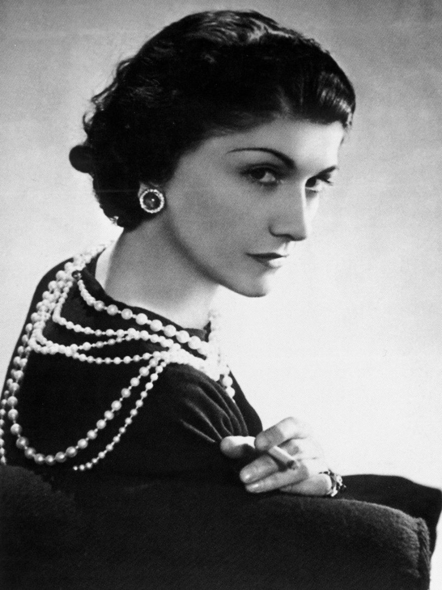 Coco Chanel - Coco won over women's hearts with her iconic fashion. She broke barriers in creating women's wear with men's fashion and comfort in mind! Those two trousers you wear to work? She broke that barrier. That pretty little black dress? She created it.