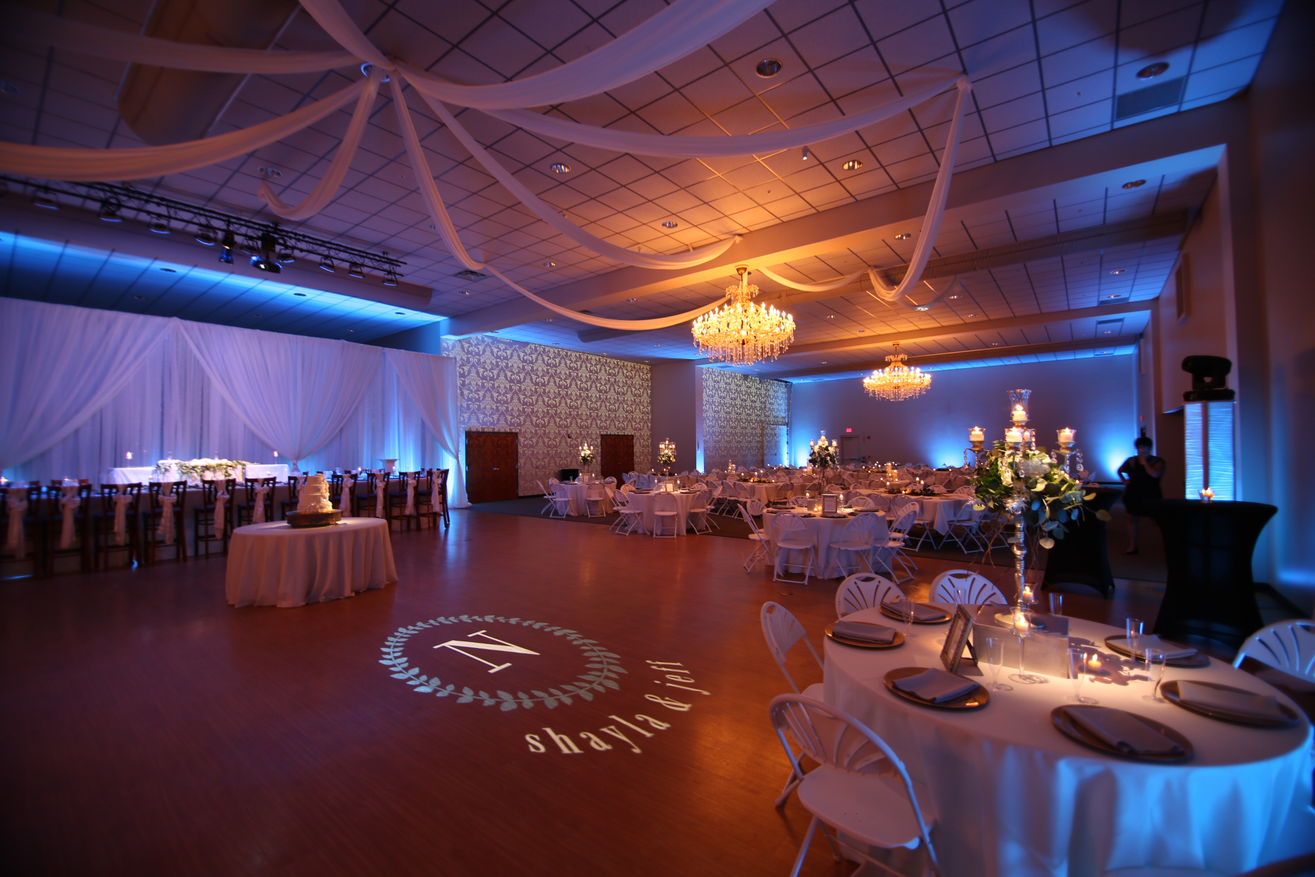 wedding lighting rental lima ohio unoh.JPG