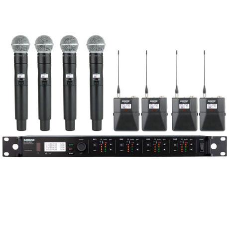 Shure ULXD4Q Wireless System -