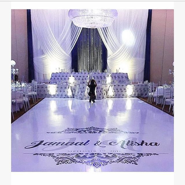 @marquee.design added the perfect white floor to compliment the beautiful white decor 😍😍😍