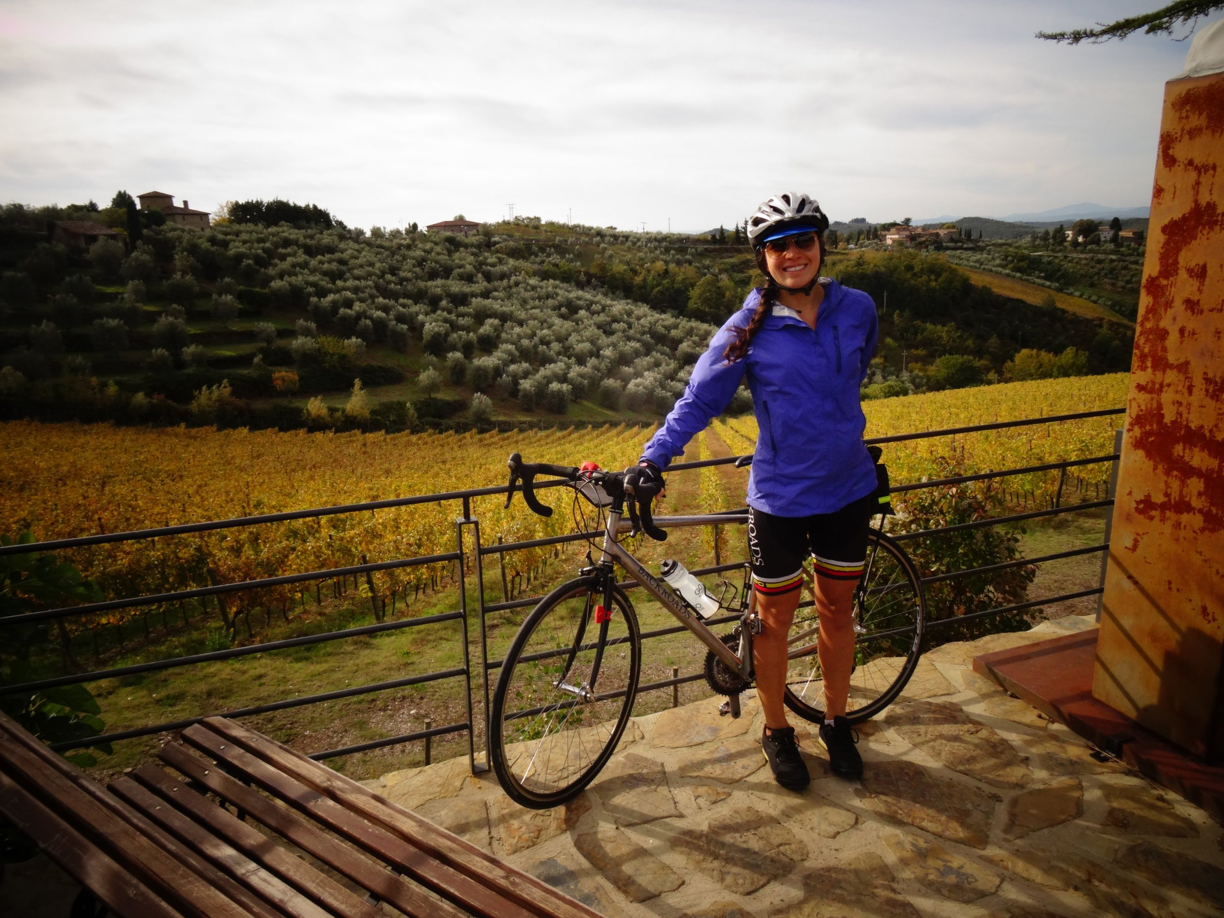 Bike touring in Tuscany, Italy