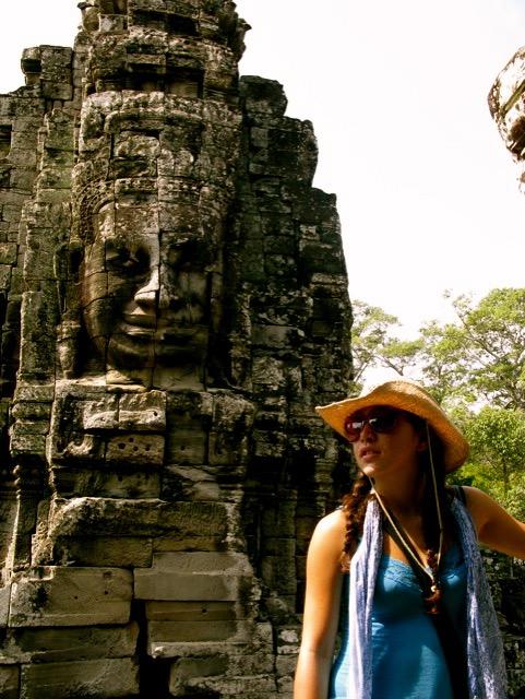 At Angkor Wat