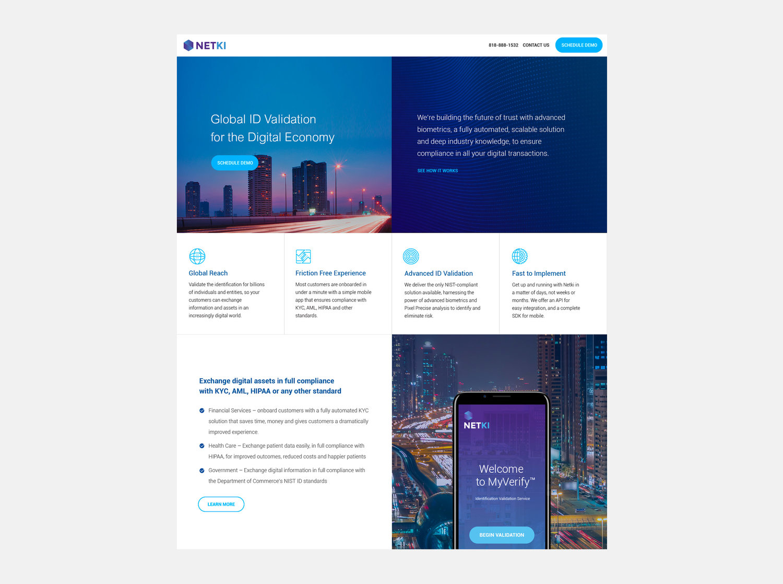 New Brand Launch / Netki — James Kim