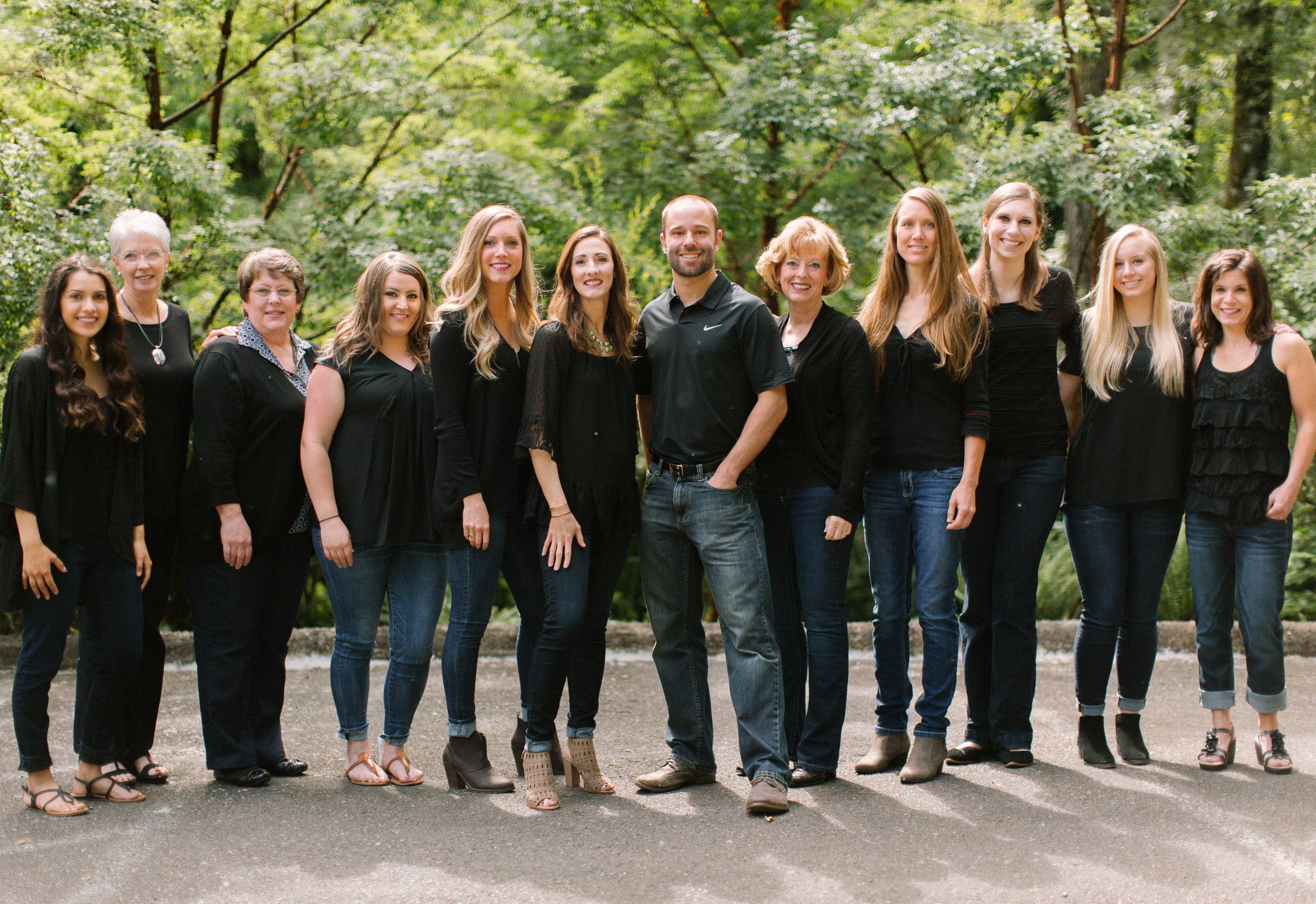Photo of the team at Kristen Smith Family Dental Group in Salem OR
