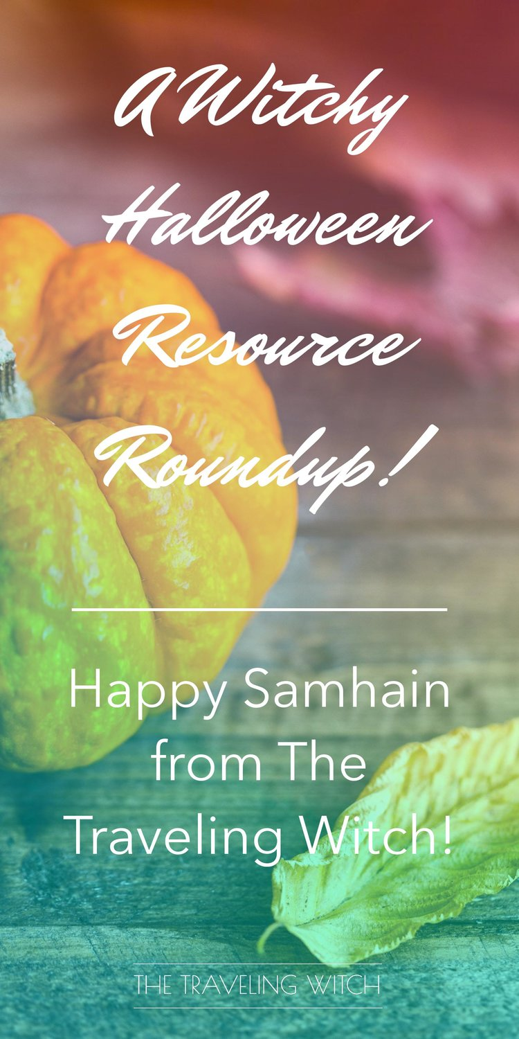 Happy Samhain from The Traveling Witch // Witchcraft // Magic // The wheel of the year