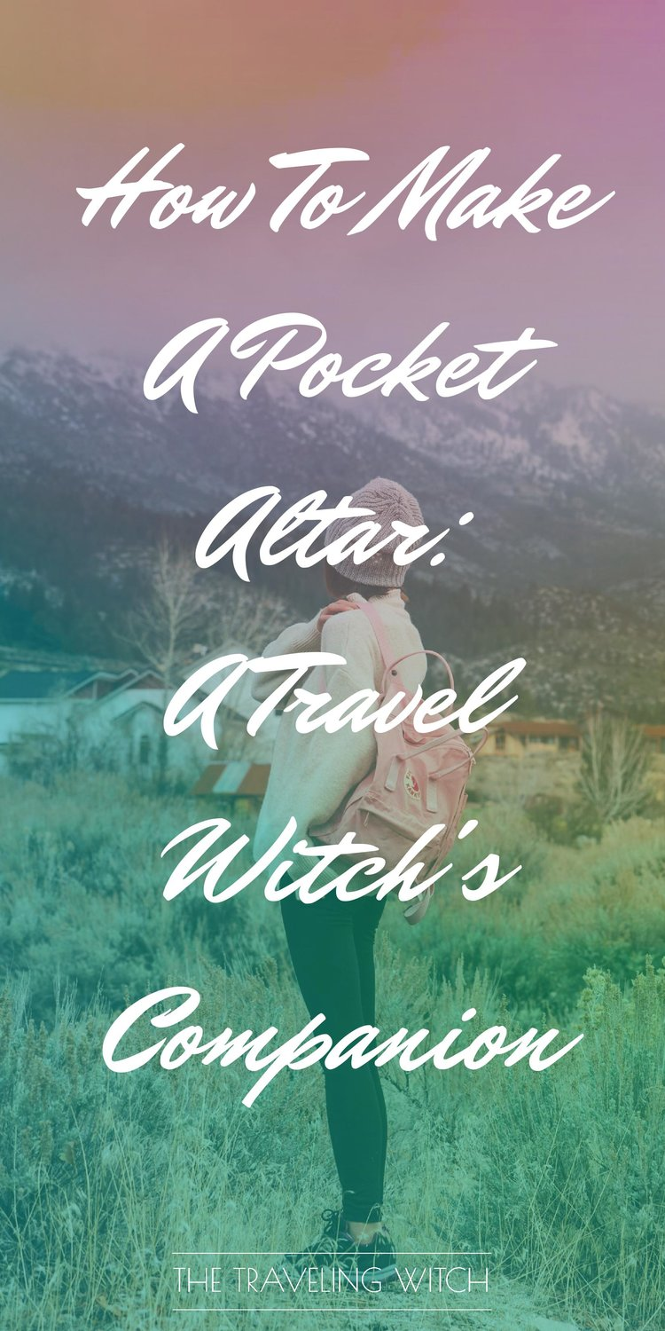 How To Make A Pocket Altar: A Travel Witch's Companion // Witchcraft // Magic
