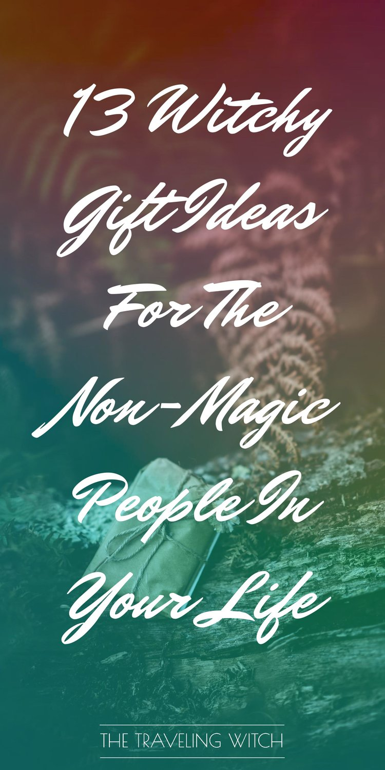 13 Witchy Gift Ideas For The Non-Magic People In Your Life // Witchcraft // The Traveling Witch