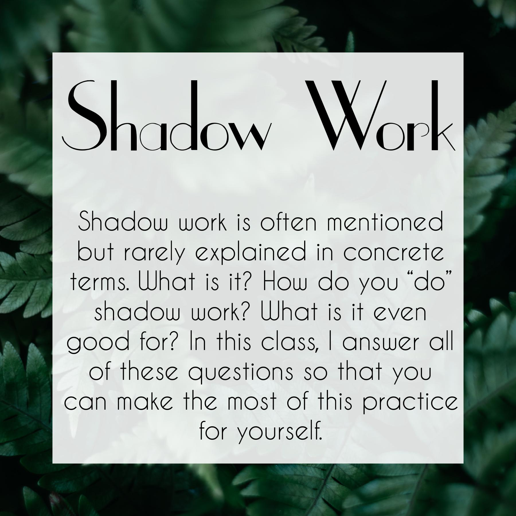 Shadow Work Course by The Traveling Witch