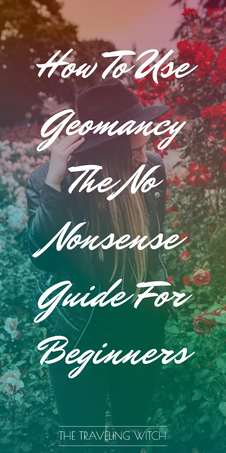 How To Use Geomancy: The No Nonsense Guide For Beginners by The Traveling Witch #Witchcraft #Magic