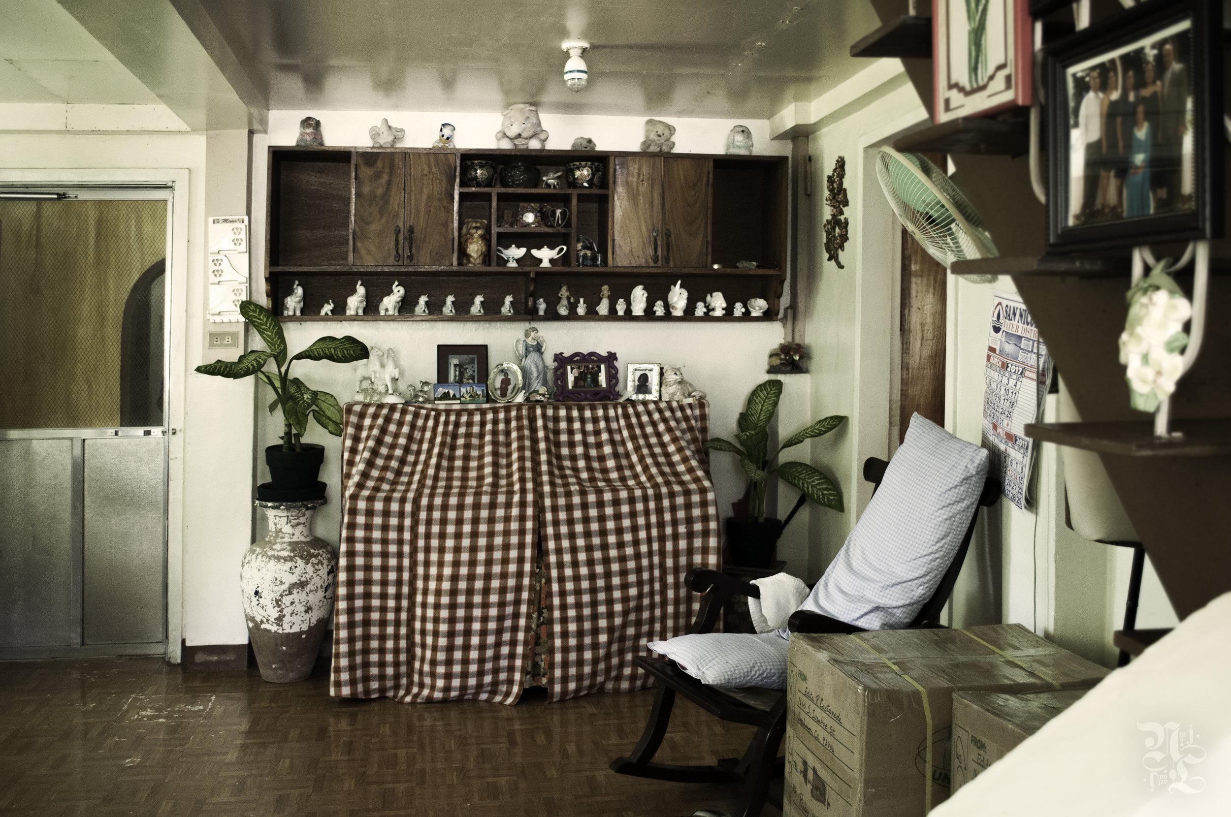 Inside a San Nicolas home