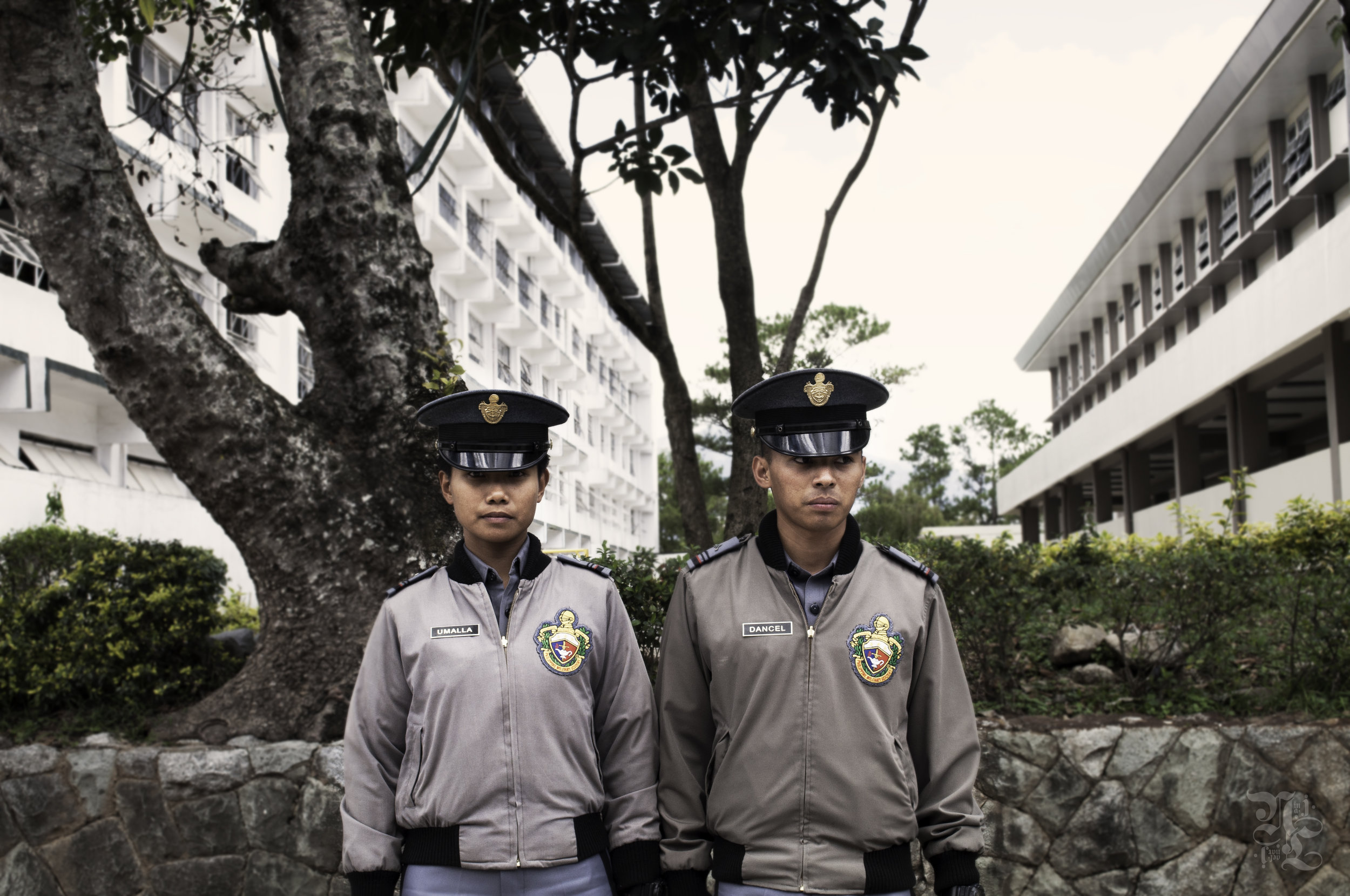 Two cadets at the Philippine Military Academy