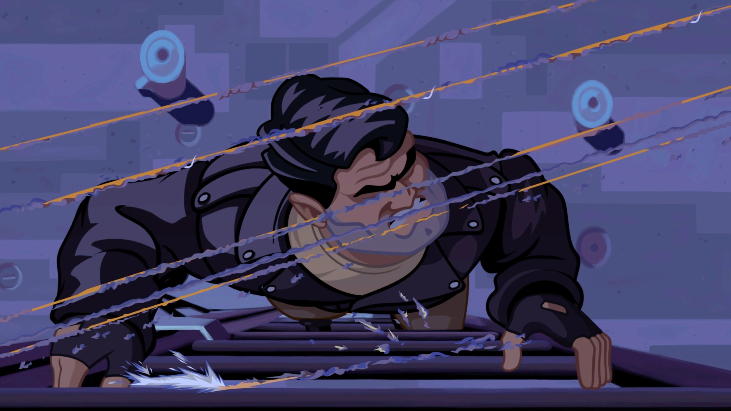 Full Throttle is incredibly cinematic; this is one of the top reasons I wanted to make a trailer for it.