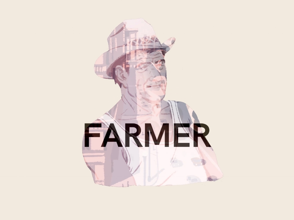 "These title cards were in the style of opening credits from the game.. From this project I learned that Farmer is ""Bauer"" in German. Just imagine Kiefer Sutherland saying: ""This is Jack Farmer..."""