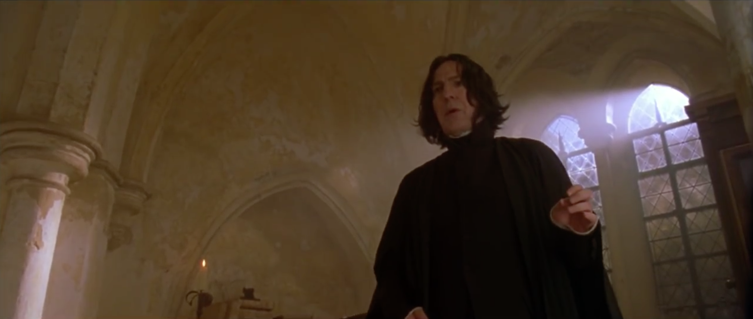 """This trailer probably could've just been Alan Rickman saying """"Mr. Potter..."""""""