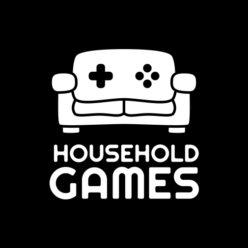Household Games Logo White Square.png
