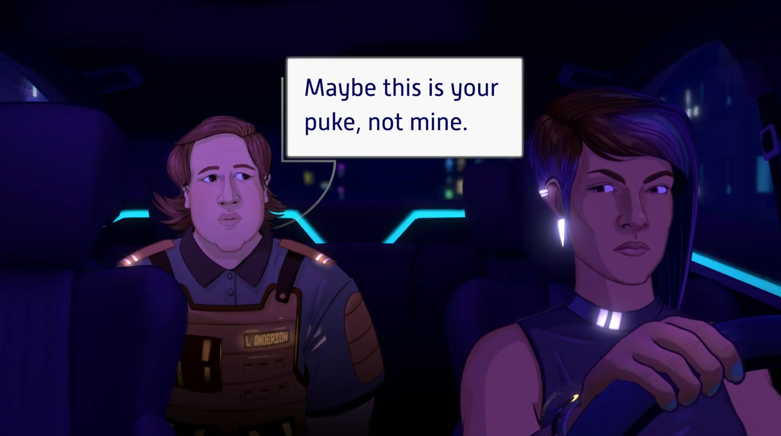 Okay I admit it, I basically made this trailer so I could include this dialogue :P