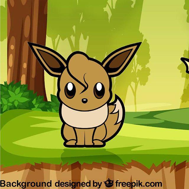I'm hope there will be new #Eeveelution in #Galar! Check out the 360° version in Facebook!  #Pokemon #pokemongo #Fanart #tooniefied #vector #print #cartoon #movie #teammystic #funny #graphicarts #digital #digitalart #cute #kawaii #illustration #slimdarkrai #teaminstict #pinoy #pop #teamvalor #Parody #Nintendo #eeveelution #ashkatchem #teepublic . . . Background is from @freepik