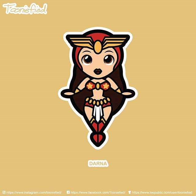 #Darna is a #Filipino superhero how gets her power by swallowing mysterious stone.  Check it out at my @teepublic store! . . . #tooniefied #awesome #print #cartoon #movie #funny #vector #graphicarts #digital #digitalart #cute #art #illustration #artist #comics #pinoy #pop #Parody #fanart #tee #forsale