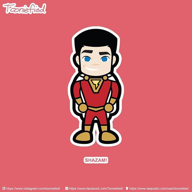 Really loved #Shazam! Definitely one of my fav superhero movie!  Check it out at my @teepublic store! . . . #tooniefied #awesome #print #cartoon #movie #funny #vector #graphicarts #digital #digitalart #cute #art #illustration #artist #comics #pinoy #pop #Parody #fanart #tee #forsale