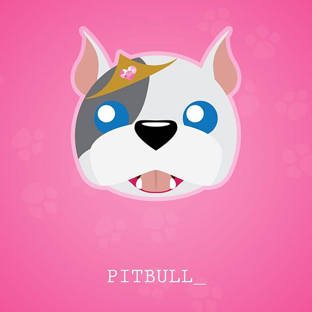 The real princess of the family.  #Pitbull #PuppyLoveSeries #dogs #dog #cartoon #tooniefied #vector #graphicarts #digital #digitalart #illustration #artist #pop #instagram #pinoy #tshirt #forsale #terrier #awesome #vector #graphicart  #cute #dogsofinstagram #puppyloveseries #pets #pet #print #doglover #scottish #neonmob #teepublic #teepublicartist