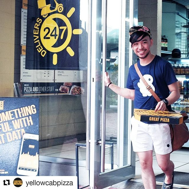 Spotted! #Repost @yellowcabpizza (@get_repost) ・・・ Have your favorite #GoodStuff ready for pick-up via the Yellow Cab App available on the App Store and Play Store! #GoodStuff  Download the Yellow Cab App now! Google Play Store: bit.do/ycapp iOS App Store: bit.do/yellowcabapp