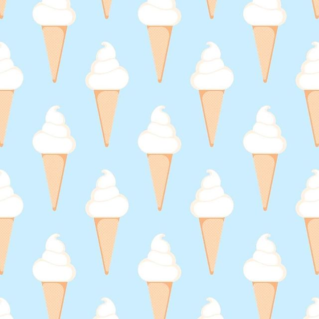 #SummerTreats Soft and fluffy! I love #softserveicecream during hot #summer days! . . . #tooniefied #patterns #vector #print #cartoon #movie #funny #graphicarts #digital #digitalart #cute #kawaii #illustration #pinoy #pop #teepublic #icecream #cool #artoftheday #artist #artistsoninstagram