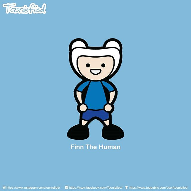 I decided to start posting some old works. Here is an early version of my #Tooniefied #FinnTheHuman from #AdventureTime  Also available on some merch   @teepublic . . . #awesome #print #cartoon #movie #funny #vector #graphicarts #digital #digitalart #cute #art #illustration #artist #comics #pinoy #pop #Parody #fanart #tee #forsale