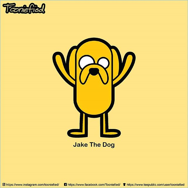 Another oldie but goodie! #JakeTheDog from #AdventureTime!  Also available on some merch   @teepublic . . . #awesome #print #cartoon #movie #funny #vector #graphicarts #digital #digitalart #cute #art #illustration #artist #comics #pinoy #pop #Parody #fanart #tee #forsale