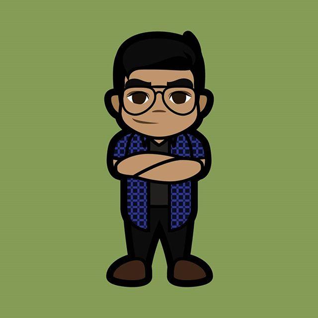 Me as a toon in 2019. 🤣 . . . #awesome #print #cartoon #movie #funny #vector #graphicarts #digital #digitalart #cute #art #illustration #artist #comics #pinoy #pop #Parody #fanart #tee