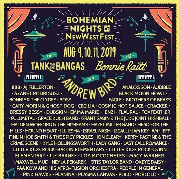 We are happy & grateful to play on Friday, August 9, Old town square stage, 6:20 - 7:05 pm!  #bohemiannights #newwestfest #fortcollins #colorado #coloradomusic #coloradoband #bohemian #blackmoonhowl