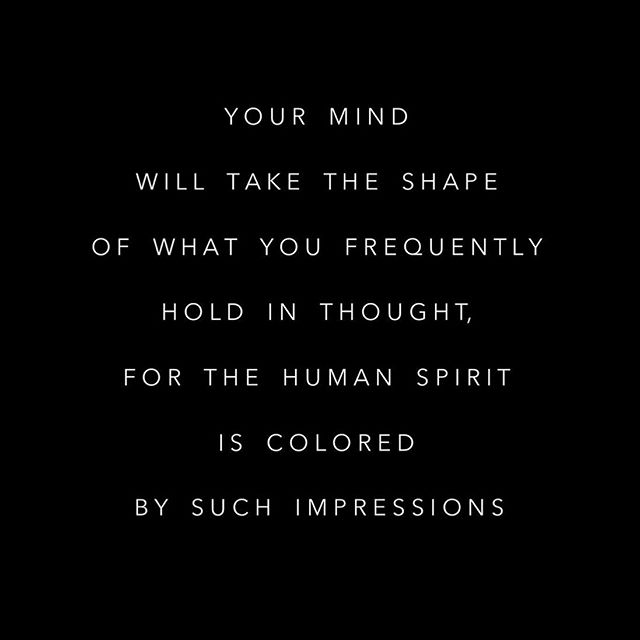 Thoughts = things. Be mindful of your innate power to create your reality. 💕✨🙌🏼