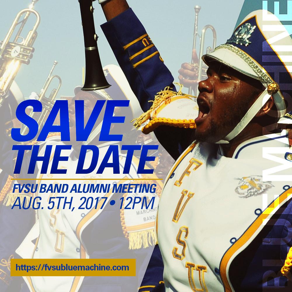 FVSUNAA Blue Machine Alumni Band