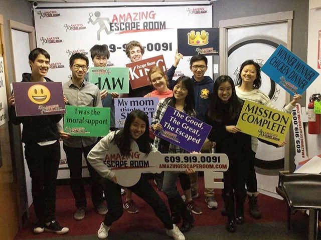 PPE took on the Amazing Escape Room and not only made it out alive, but with the best time of the month! Granted, it was the first time of the month, but still...a record is a record. Huge thanks to Christina Xu for organizing the event and to everyone else who came out!