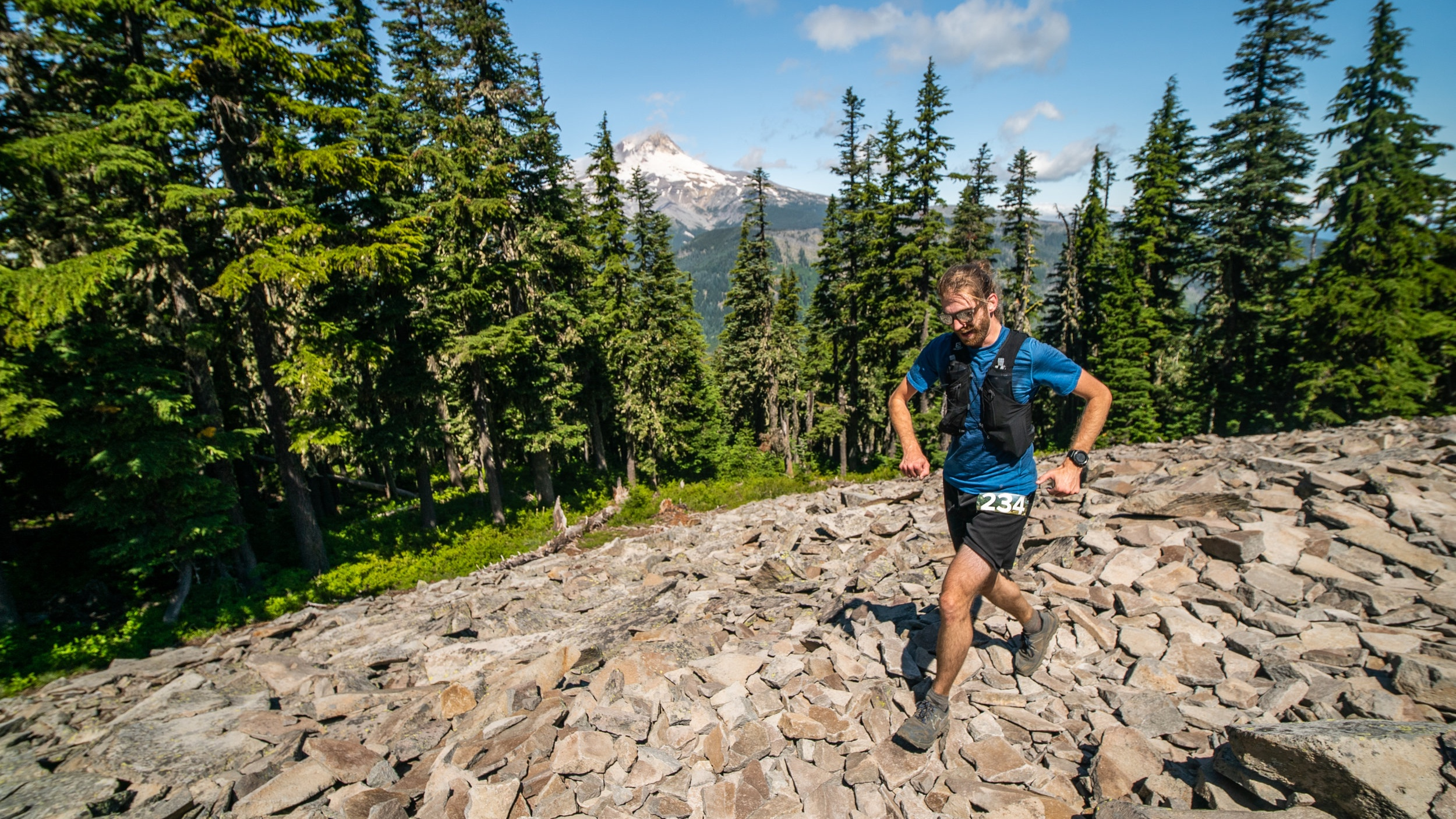 Wy'east howl 50K - Point-to-point ridge trails onto Mt. Hood!July 25, 2020