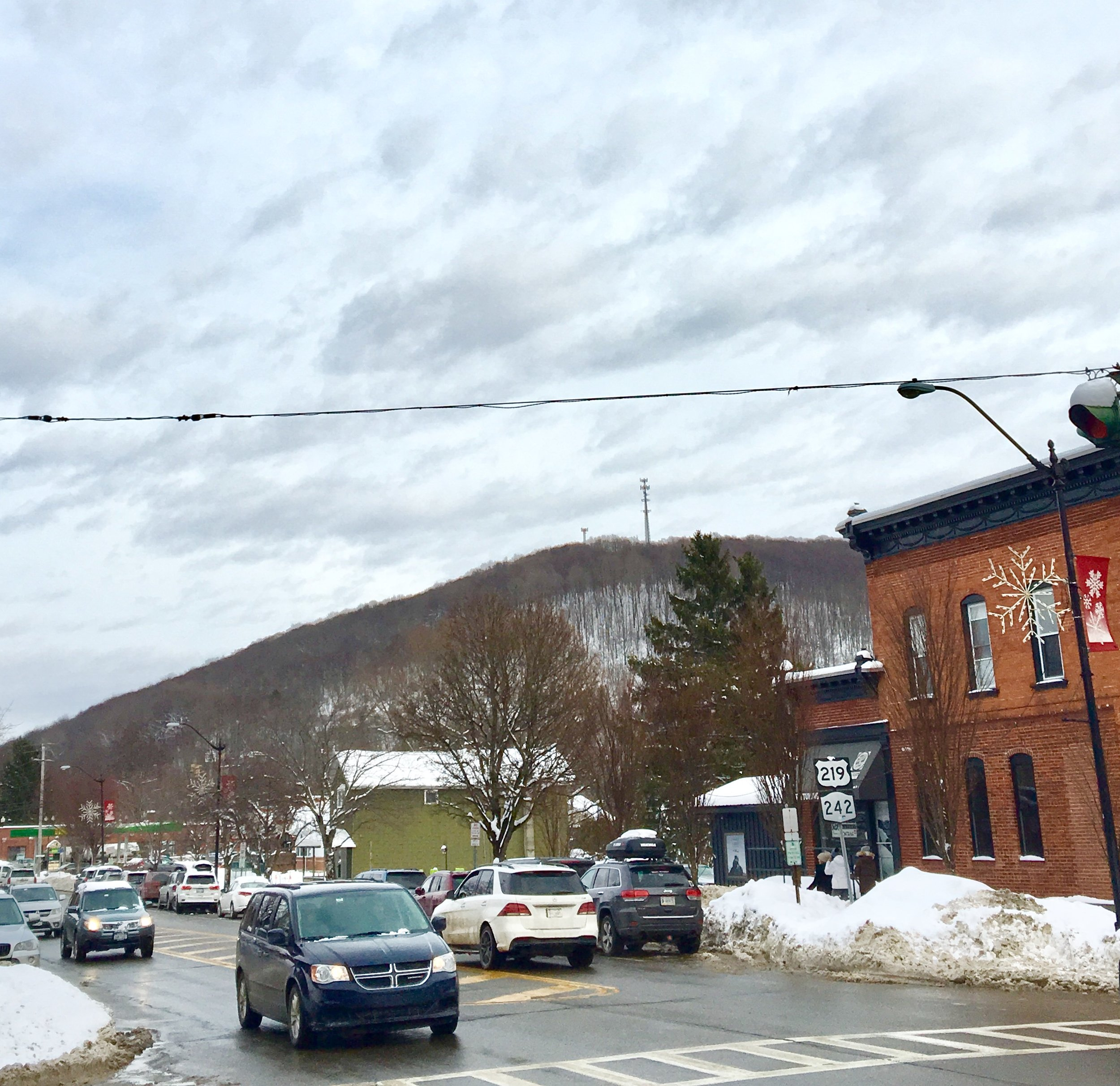 At the center of Ellicottville