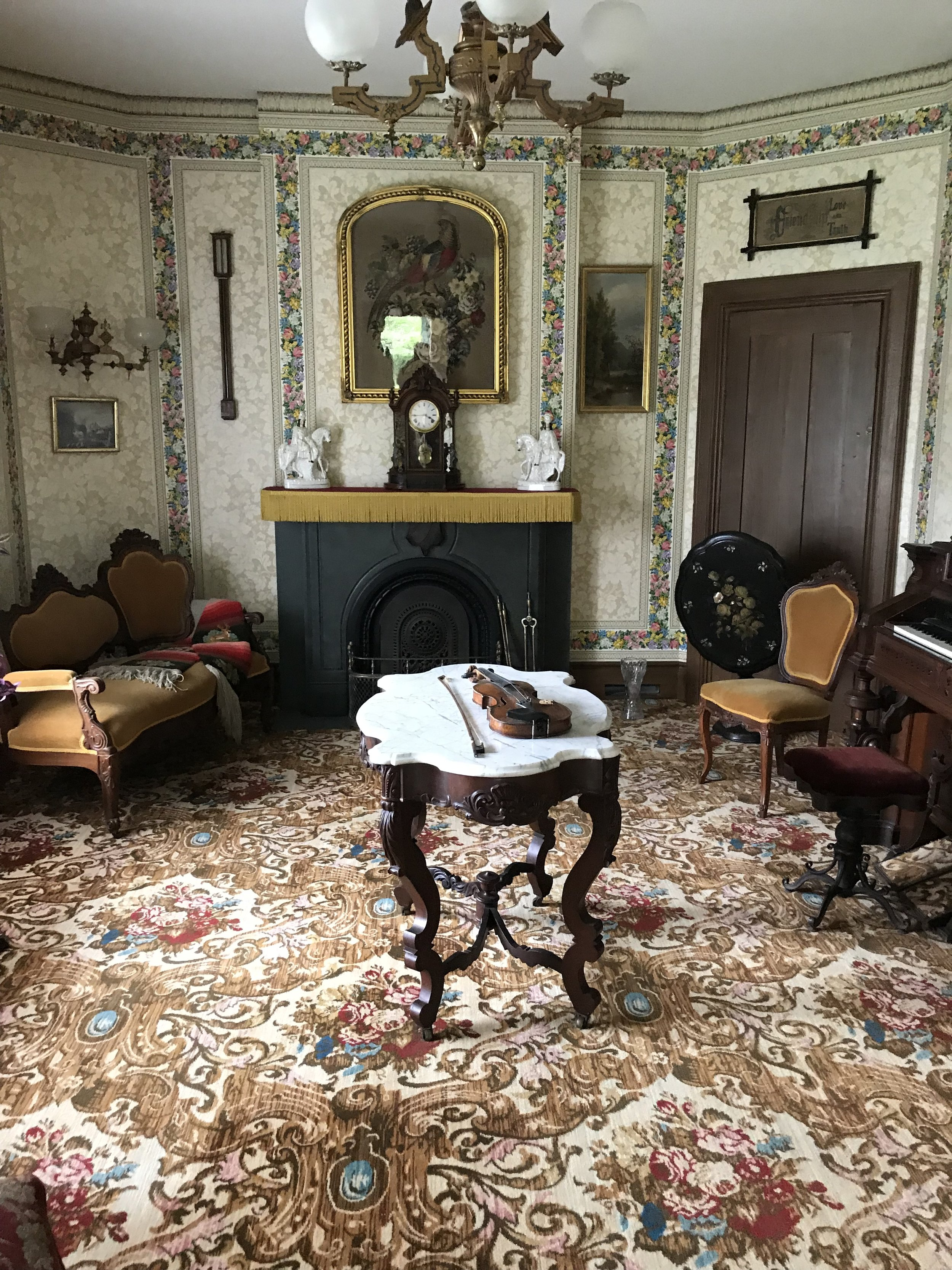 Interior of the Hyde House