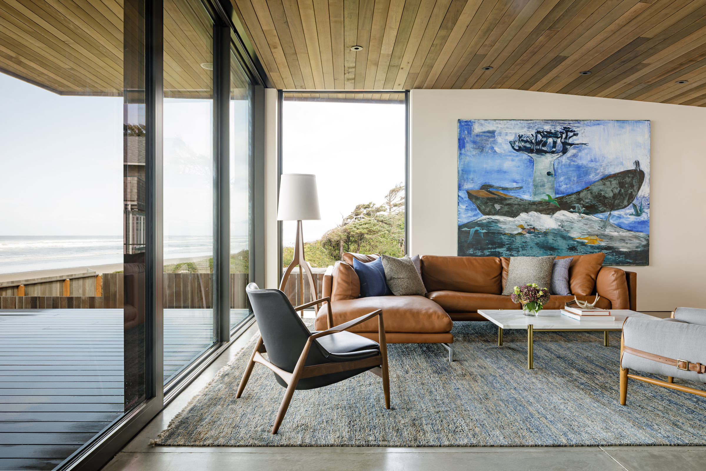 Luxe Magazine - An Oregon Beach House is All About Clean LinesJanuary 2018 (Cover)