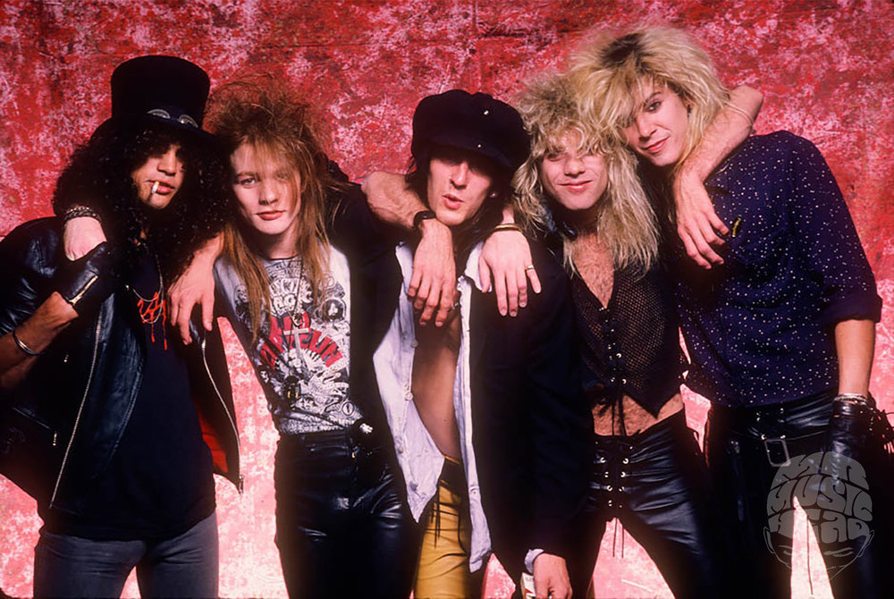 Guns N' Roses, 1987 by Neil Zlozower — Mr Musichead