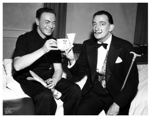 Alan Freed & Salvador Dali  201   -Paramount NYC-  2-22-1957  .jpg