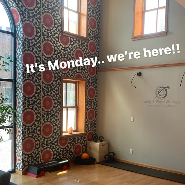 Hello Batavia!  We are here every Monday!  Stop in and we can chat about your wellness or any other ache, pain or concern you may have.  #MOVECatalyst #FUELCatalyst #RECOVERCatalyst #ENDURECatalyst #CONNECTCatalyst