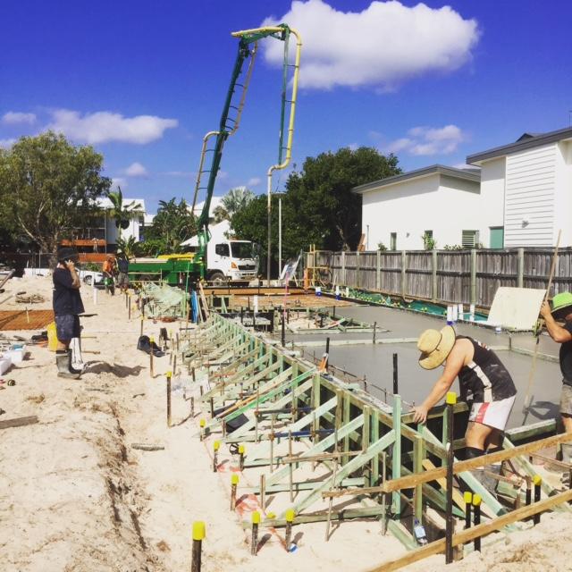 Construction Photo - Casuarina