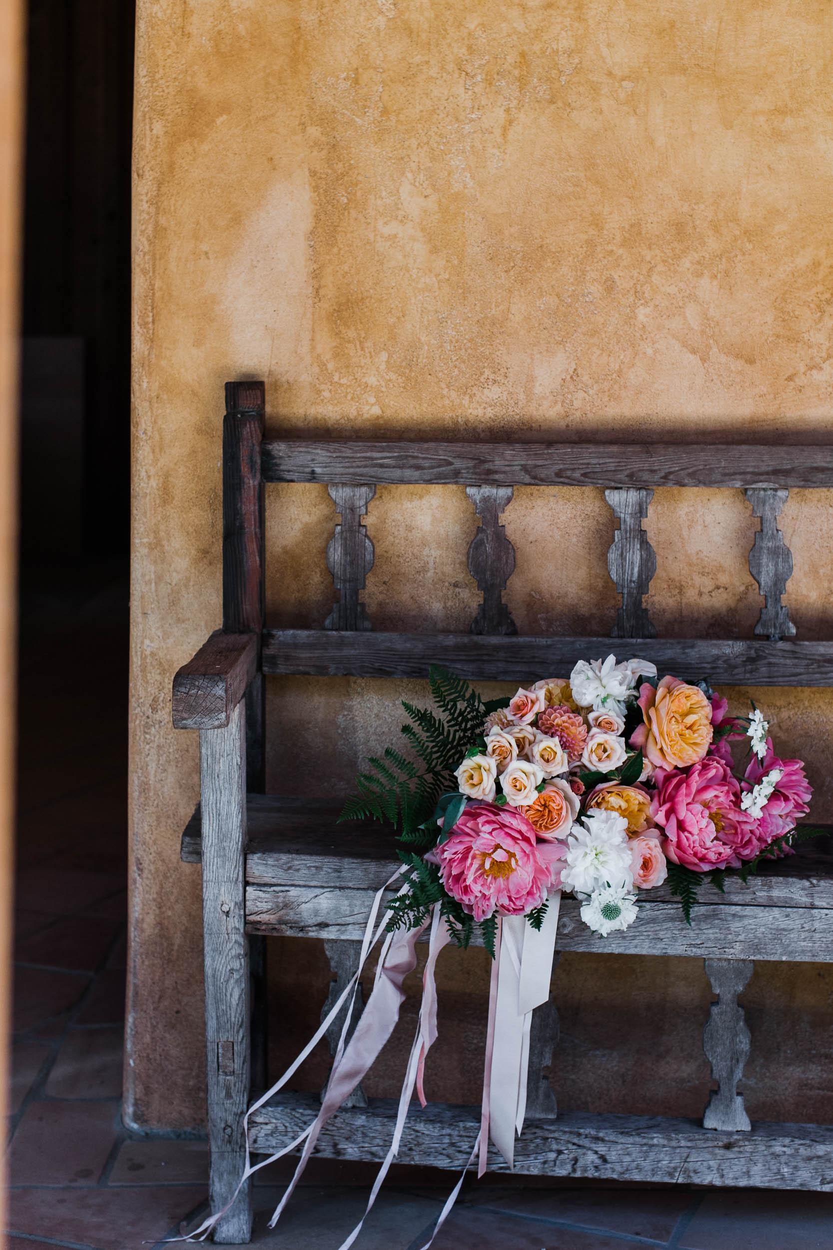 Burst Bloom bouquet Georis Carmel Valley Wedding