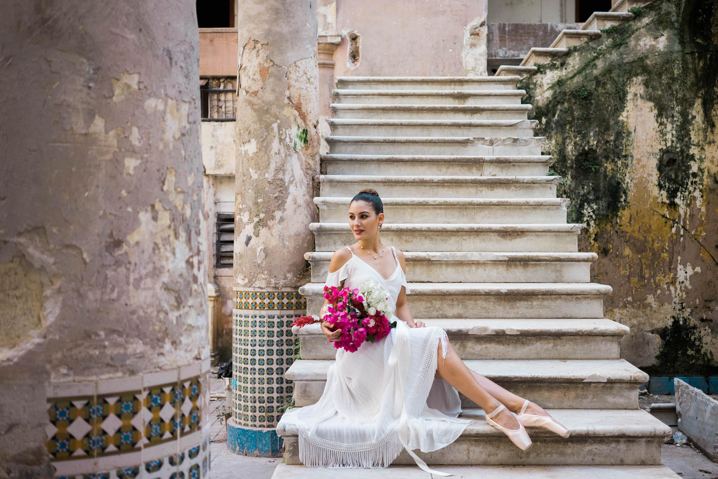 Havana Ballerina Bridal Editorial
