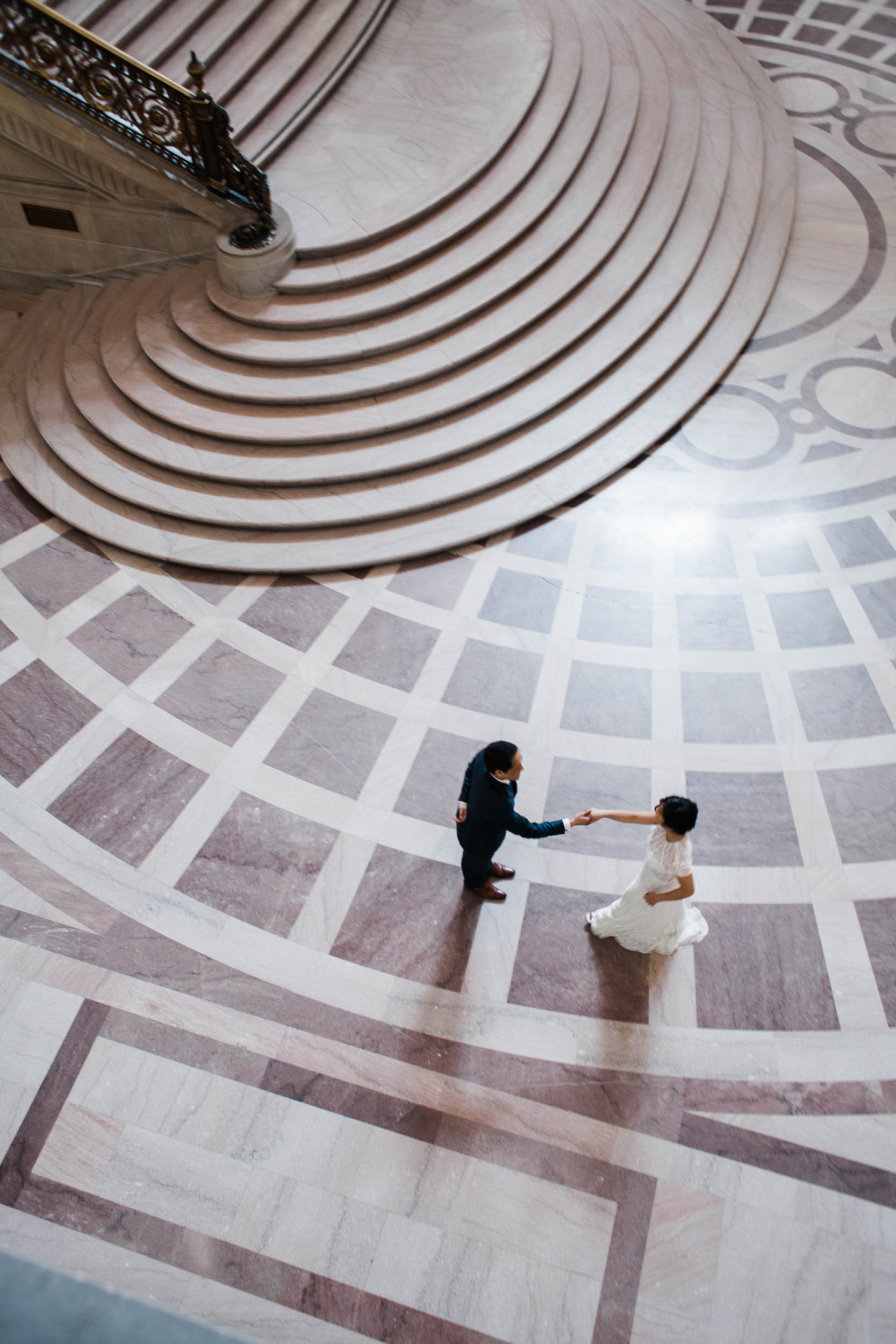 David + Madeline | City Hall