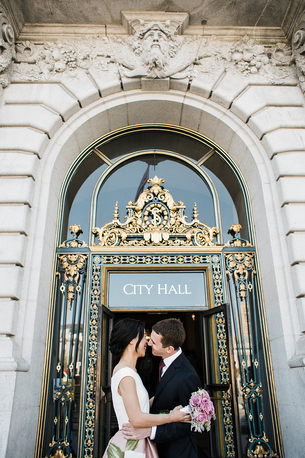 Jeff + Yujia | City Hall, San Francisco