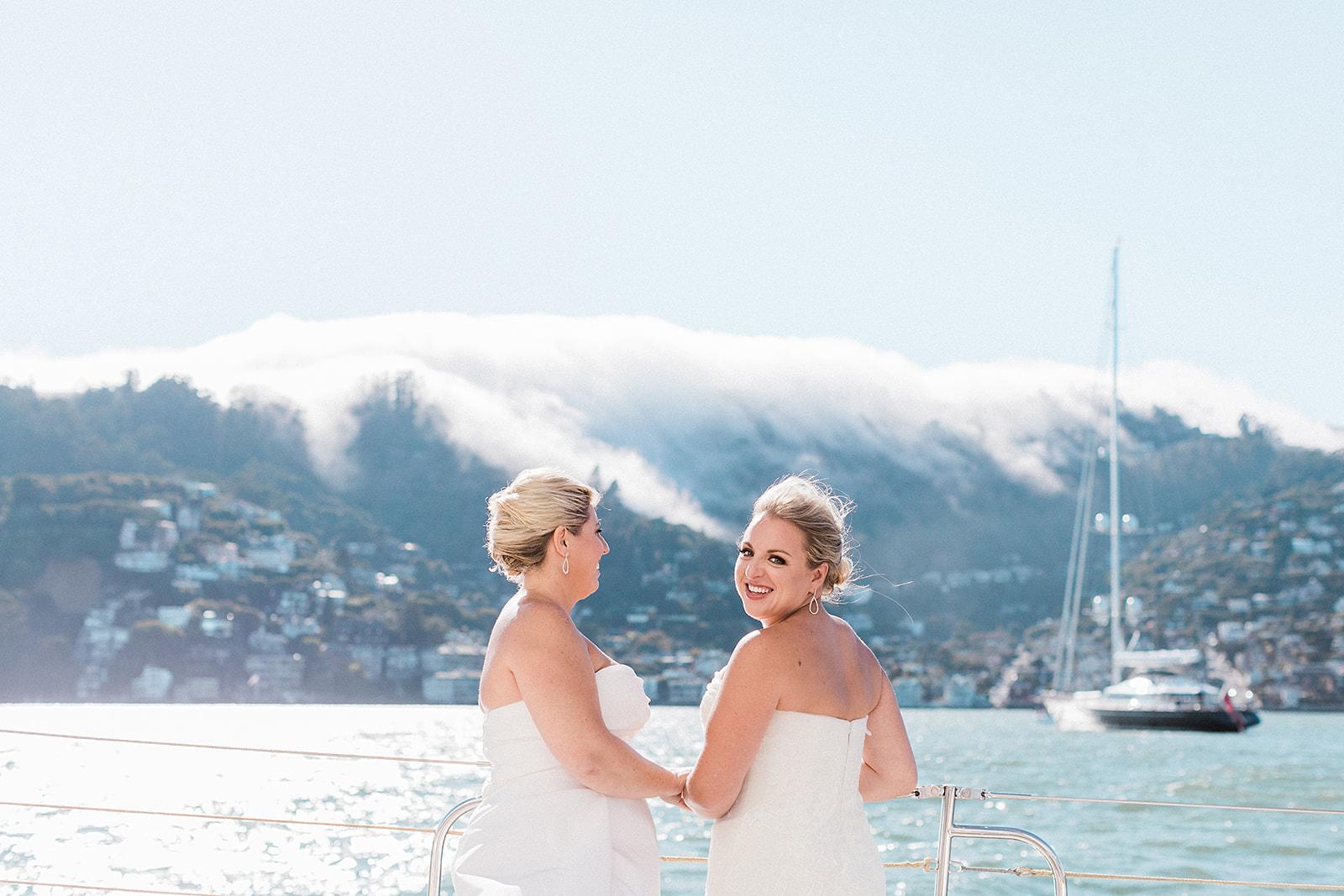Amy + Kacey | Sausalito Yacht Club