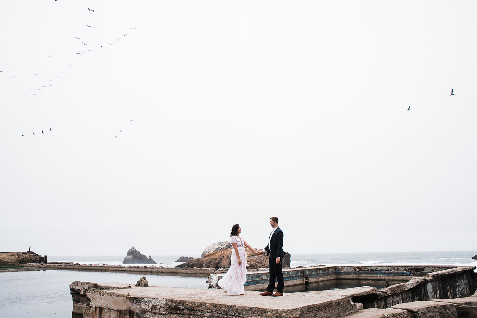 Ally + Joe | Sutro Baths, San Francisco