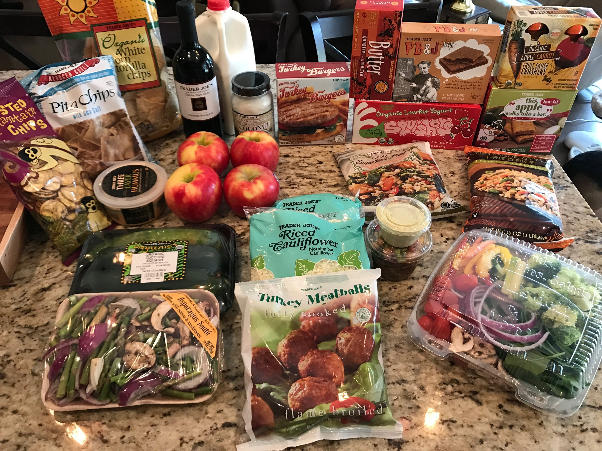 Here is my grocery haul from last week!!